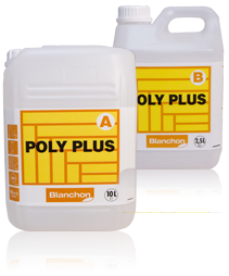 Vitrificateur Poly Plus A+B Blanchon - 10 L + 2,5 L